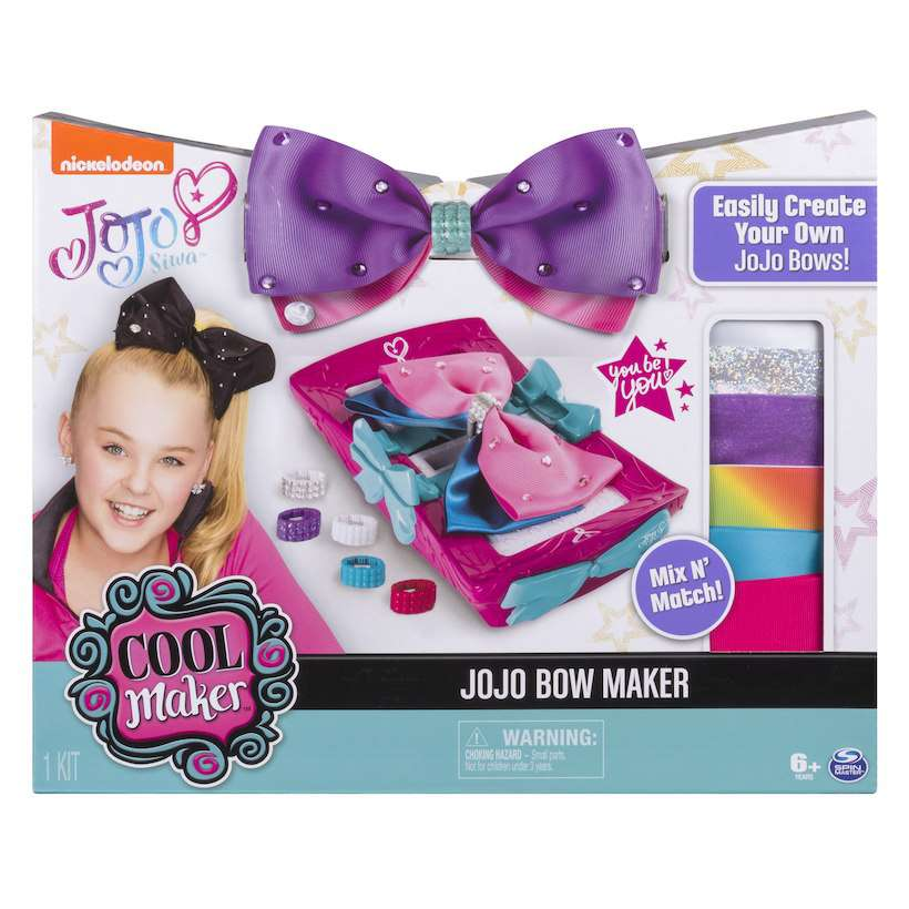 Nickelodeon JoJo Siwa JoJo Bow Maker Starter Set [Create Your Own JoJo Bows!] by