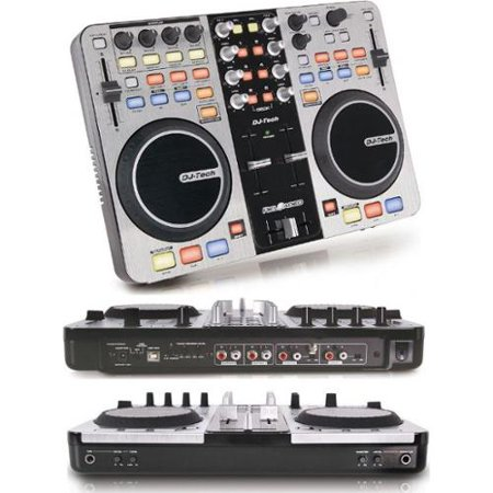 Dj tech reloaded 6 deck usb dj controller w audio for Floor 6 reloaded
