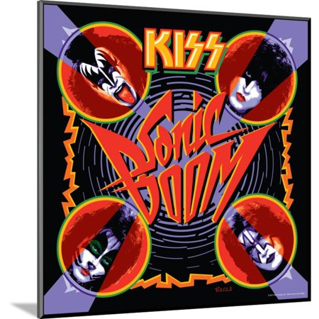 KISS - Sonic Boom (2009) Wood Mounted Poster Wall Art By Epic Rights