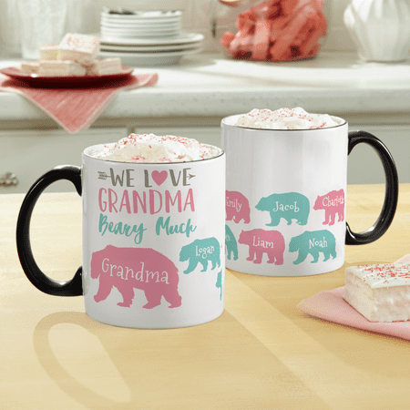 Personalized Love Her Beary Much Mug - 1 - Beary Sweet Gift
