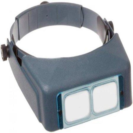 Optivisor Headband Magnifier (Donegan DA-10 OptiVisor Headband Magnifier, 3.5x Magnification, 4 Focal)