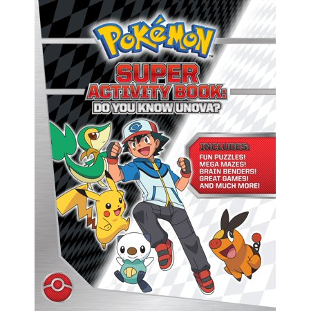 Pokémon Super Activity Book: Do You Know Unova?](Halloween Activities To Do At School)