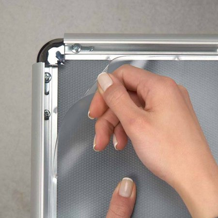 SnapeZo® PVC - Replacement Covers for snap frames - non reflective