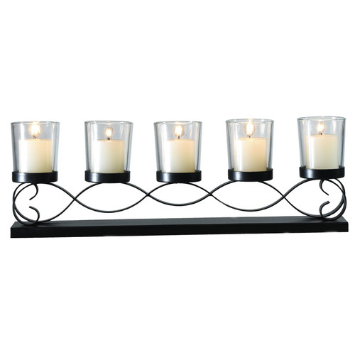 Adeco Trading Glass Candelabra by Adeco Trading
