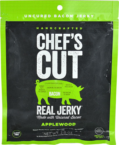 Chef's Cut Real Jerky Bacon Applewood -- 2 oz pack of 1 by Chef's Cut