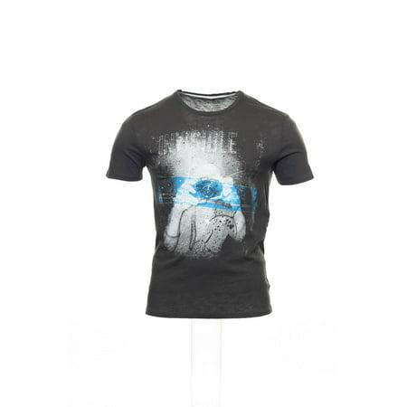 Converse Gray Graphic T-Shirt Tee Shirt , Size Large - Converse Size Charts