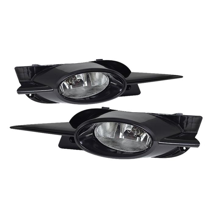 Spyder Honda Civic 09-11 2Dr OEM Fog Lights W/Switch- Clear