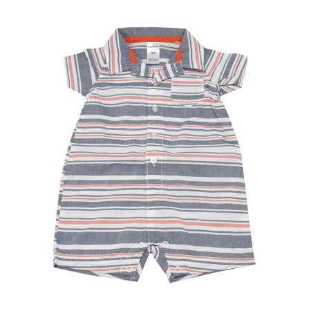 30177eb6ad17 Carter s - Carter s Baby Boy Size 6 Months Striped Short Sleeve ...