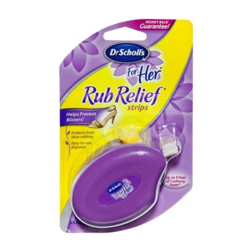 Dr. Scholl's For Her Rub Relief Strips-0.11 oz. []