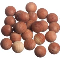 Cedar Balls - Absorb moisture and Eliminate Odors While Repelling Insects (Set of 24) by International Hanger