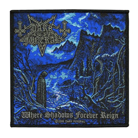 Dark Funeral Where Shadows Forever Reign Patch Metal Album Art Sew On Applique