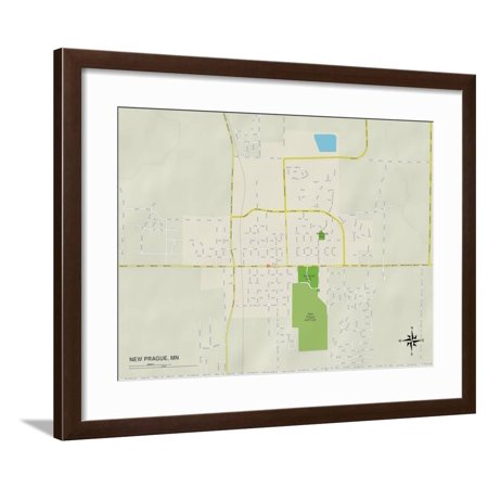 Political Map of New Prague, MN Framed Print Wall Art on map of thief river falls mn, map of parkers prairie mn, map of excelsior mn, map of ogilvie mn, map of forest lake mn, map of east grand forks mn, map of albertville mn, map of grasston mn, map of nicollet mn, map of eagan mn, map of becker mn, map of white bear lake mn, map of deephaven mn, map of truman mn, map of erskine mn, map of fairfax mn, map of lakeville mn, map of sauk centre mn, map of lake city mn, map of inver grove heights mn,