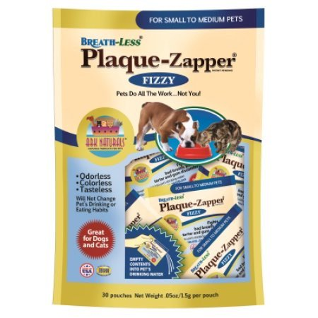Breath-Less Plaque Zapper Dog & Cat Pouches, Small to -