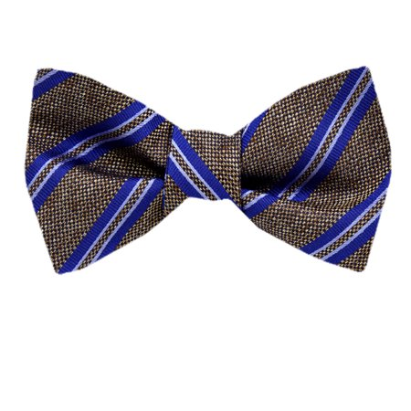 Self Tie Silk Bow Tie XL for Men Big and Tall - Many Colors and Patterns. Diamond Patterned Silk Tie