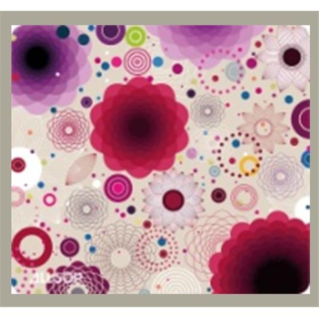 Computer Accessories Mouse Pad Floral - Retro