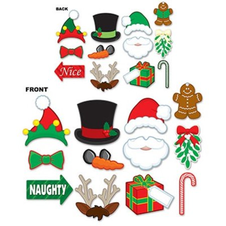 Club Pack of 144 Winter Wonderland Christmas Photo Fun Sign Party Decorations 9.75
