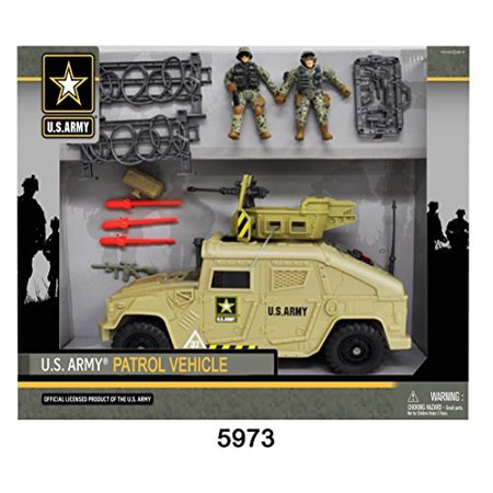 U.S. Army Urban Tank w/ 2 Soldier - Toy Army Guns