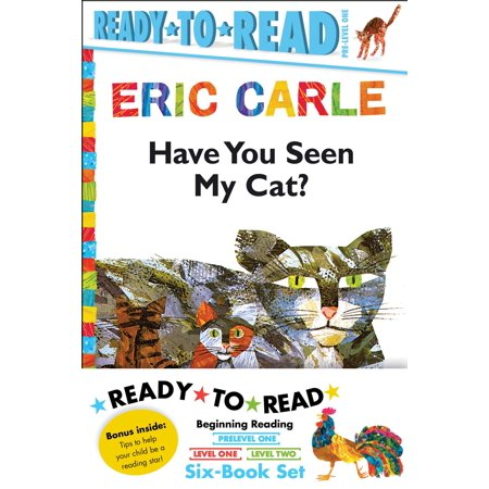 Eric Carle Ready-to-Read Value Pack : Have You Seen My Cat?; Walter the Baker; The Greedy Python; Rooster Is Off to See the World; Pancakes, Pancakes!; A House for Hermit Crab