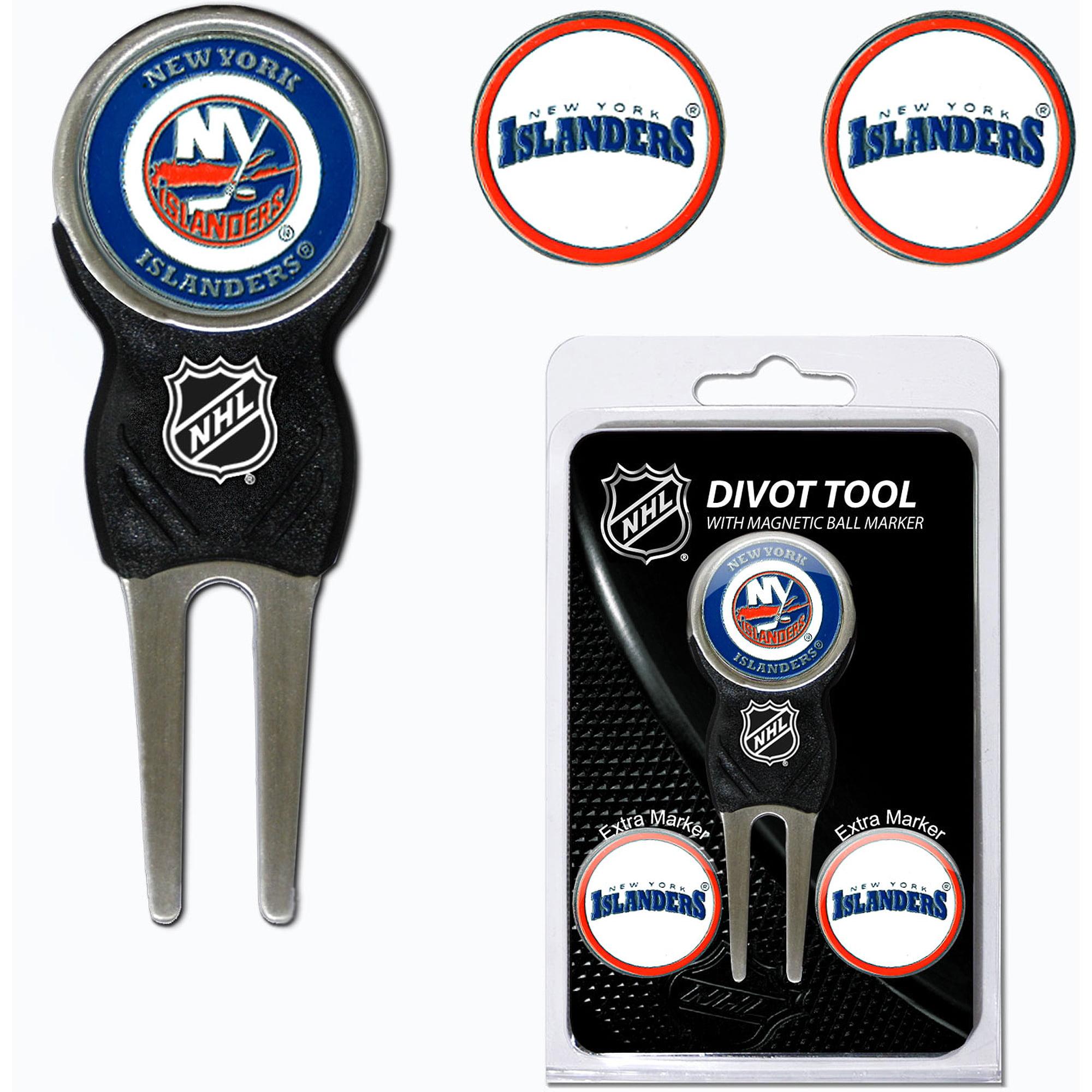 New York Islanders 3-Marker Signature Divot Tool Pack