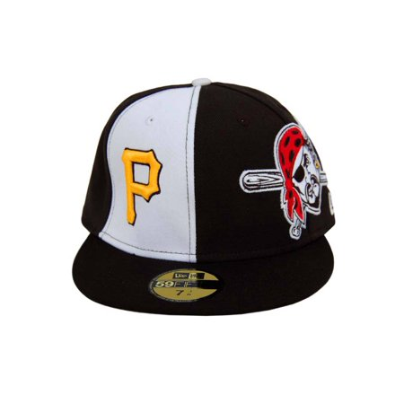 save off cec4a 646a7 MLB Pittsburgh Pirates New Era 59Fifty Pirate Fitted Hat Cap 7 1 2 - image  ...
