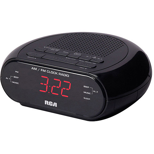 RCA RC205 Dual Wake Clock Radio