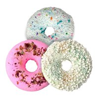 garb2ART Donut Bath Bombs, Cocktail 3-Pack , Kick Back w/ These Relaxing Scents