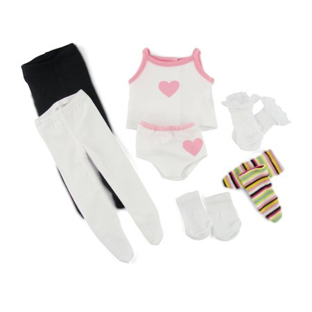 American Girl Doll Underwear, Tights & Socks 18 Inch Dolls Clothes/clothing - Doll Halloween Tights