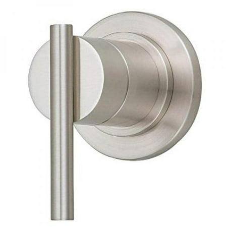 Danze D560958BNT Parma Single Handle Trim Kit for 3/4-Inch Volume Control/Shut-Off Valve or 3-Port/4-Port Shower Diverter, Valve Not Included, Brushed Nickel ()