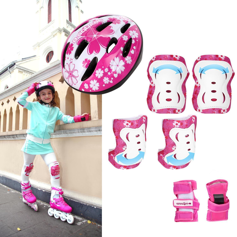 Premium Girls Boys Adjustable Training Inline Skate Combo...