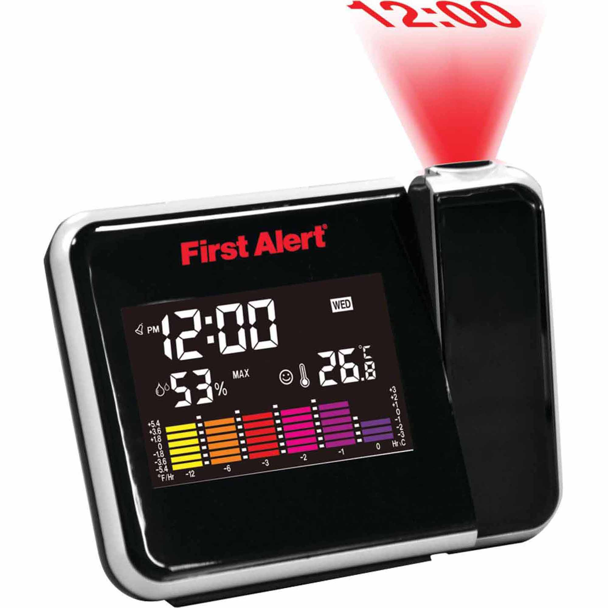First Alert FA-2200 Weather Station Projection Clock by First Alert