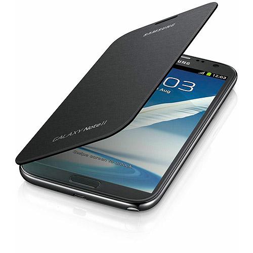 OEM Samsung Galaxy Note 2 Flip Cover (Titanium Gray)
