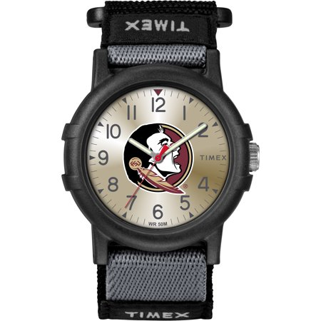Ncaa Florida State Seminoles Mesh - Timex - NCAA Tribute Collection Recruite Youth Watch, Florida State Seminoles