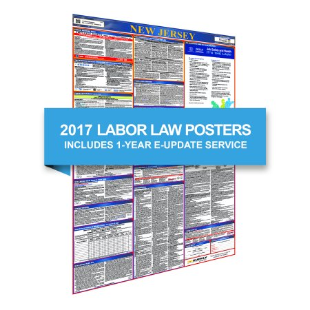 New Jersey All In One Poster   1 Year E Update Service