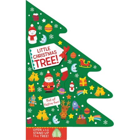 Is Wal Mart Open On Christmas.Little Christmas Tree Open And Stand Up The Tree Board Book