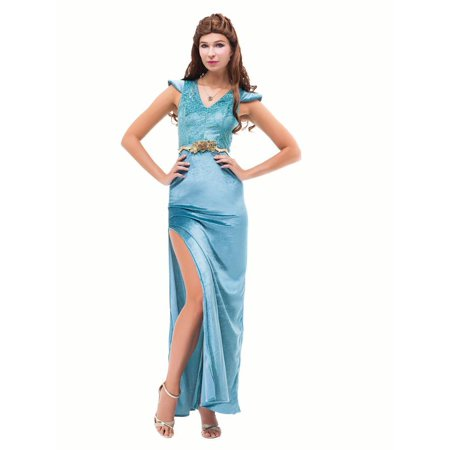 Women Game of Thrones Daenerys Targaryen Costume Evening Gown Princess Dress for Wedding Party Halloween Cosplay - Special Halloween Dinner
