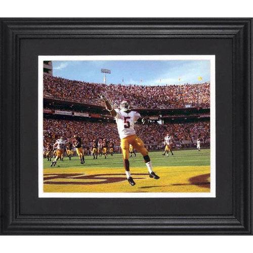 NCAA - Reggie Bush USC Trojans Framed Unsigned 8x10 Photograph