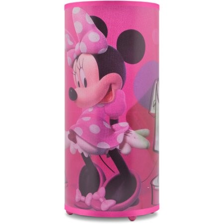 Disney Minnie Mouse Light Up Glitter Table Lamp