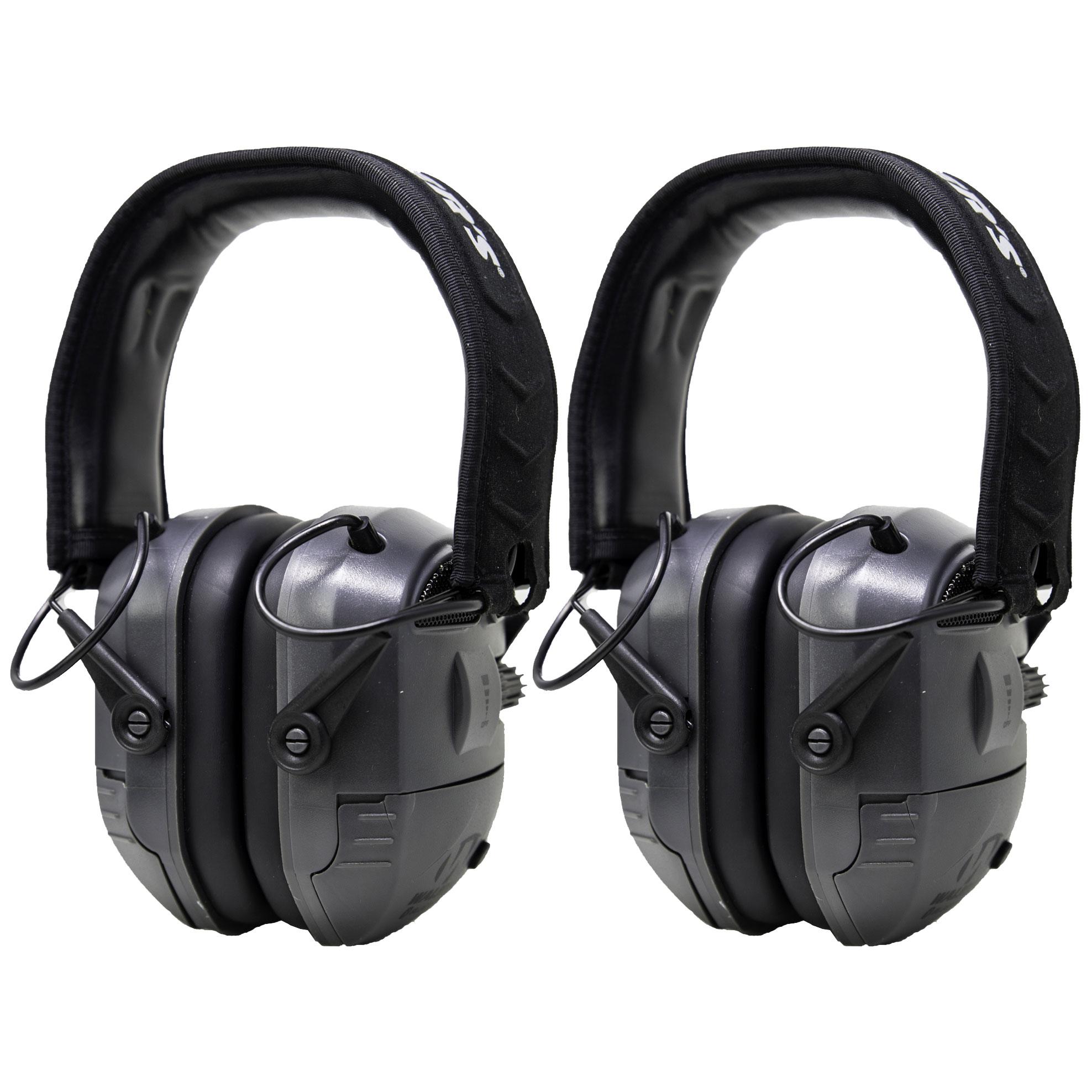 Walker's Game Digital Quad Hunting Ear Muffs (2 Pack) (Certified Refurbished)