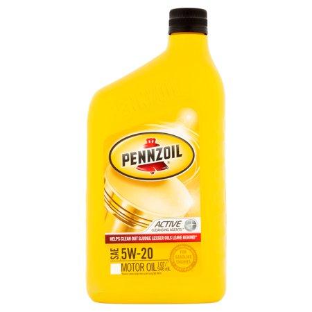 Pennzoil 5w20 Conventional Motor Oil 1 Qt