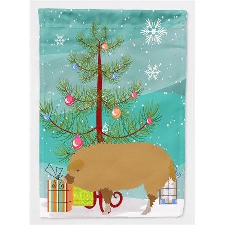 Carolines Treasures BB9301CHF Hungarian Mangalica Pig Christmas Flag - Canvas House Size - image 1 de 1