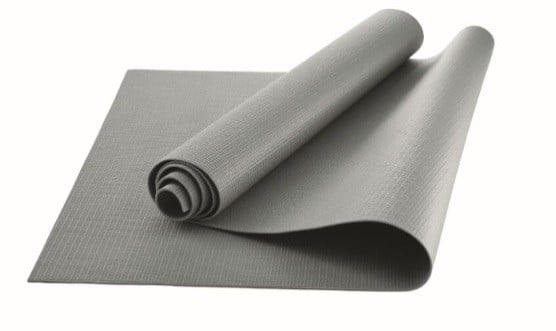 Athletic Works Yoga Mat, Grey, 3mm by Wal-Mart Stores, Inc.