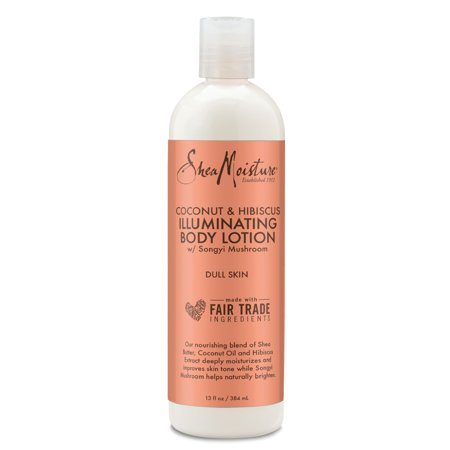 SheaMoisture Coconut & Hibiscus Brightening & Toning Body Lotion, 13 (Sheer Body Lotion)