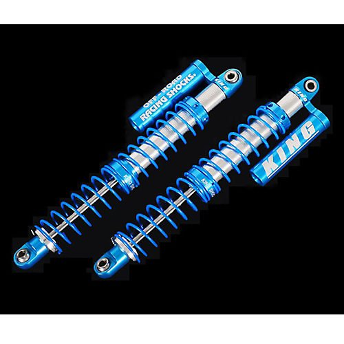 King Off-Road Scale Piggyback Shocks, 110mm Multi-Colored
