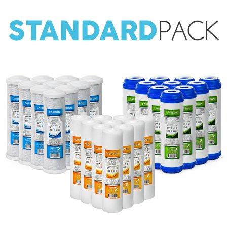 Undersink Reverse Osmosis - Express Water Reverse Osmosis RO Replacement Filters Set Universal Standard 10