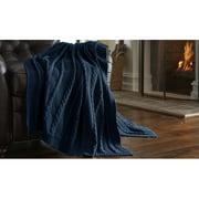 Amrapur Overseas Inc. Sweater Knit Throw Blanket