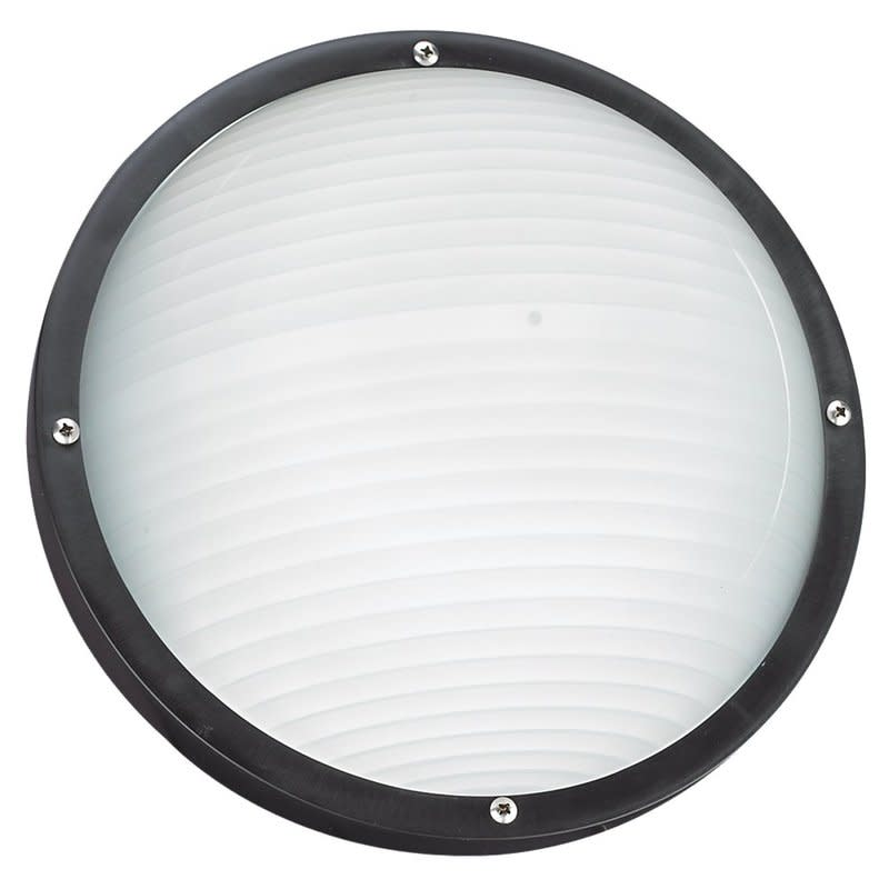 Sea Gull Lighting 83057 Bayside 1 Light Outdoor Flush Mount Ceiling or Wall Moun