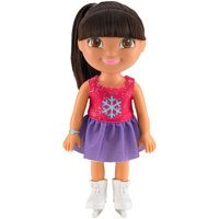 Nickelodeon Dora the Explorer Everyday Adventures Figure Skater Dora Doll