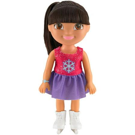 Nickelodeon Dora the Explorer Everyday Adventures Figure Skater Dora (Dora Explorer Friendship Adventure Life Size Doll)