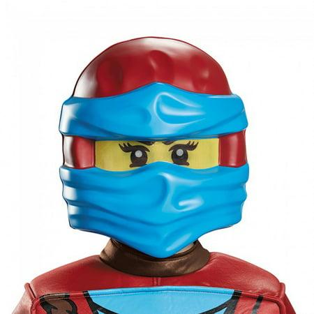 Lego Ninjago Nya Costume Mask Child One Size