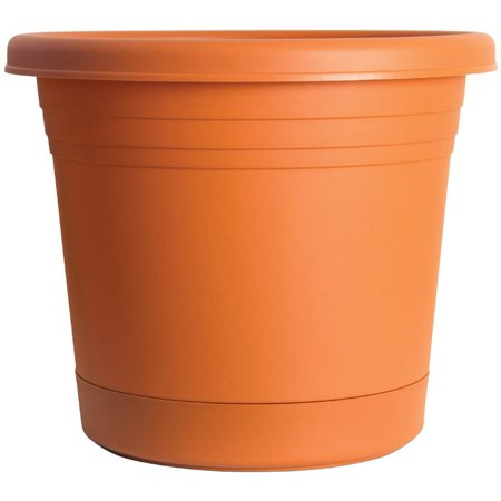 Rugg AR8-TC Planter, Terracotta, - Nat Terra Cotta